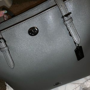 Authentic Coach Turnlock Tote laptop/book bag